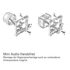 Audio Sprechstelle Befestigung
