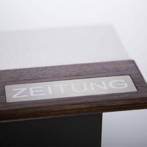 Briefkasten modern