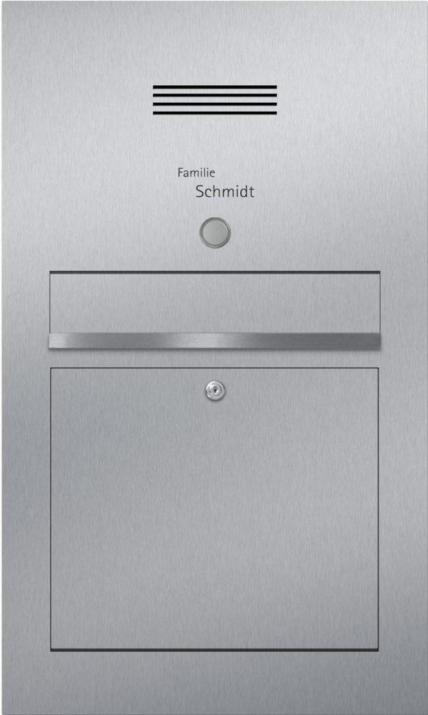 Türsprechanlage Edelstahl Audio Konfigurator Beschriftung Klingel