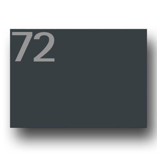 Briefkasten Edelstahl Anthrazit Zeitungsfach Beschriftung Hausnummer
