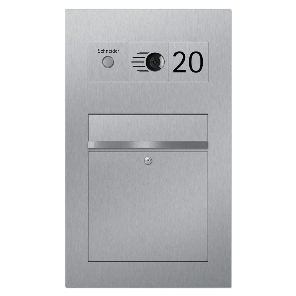 Briefkasten Türsprechanlage Modulsystem Videosprechanlage